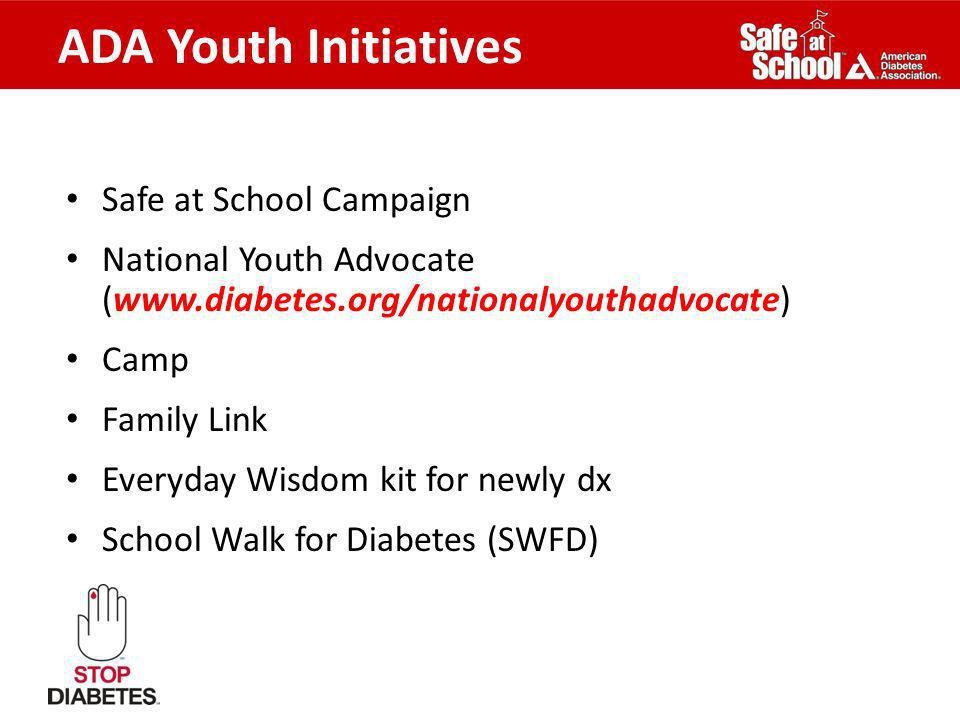 ADA Youth Initiatives Safe at School Campaign
