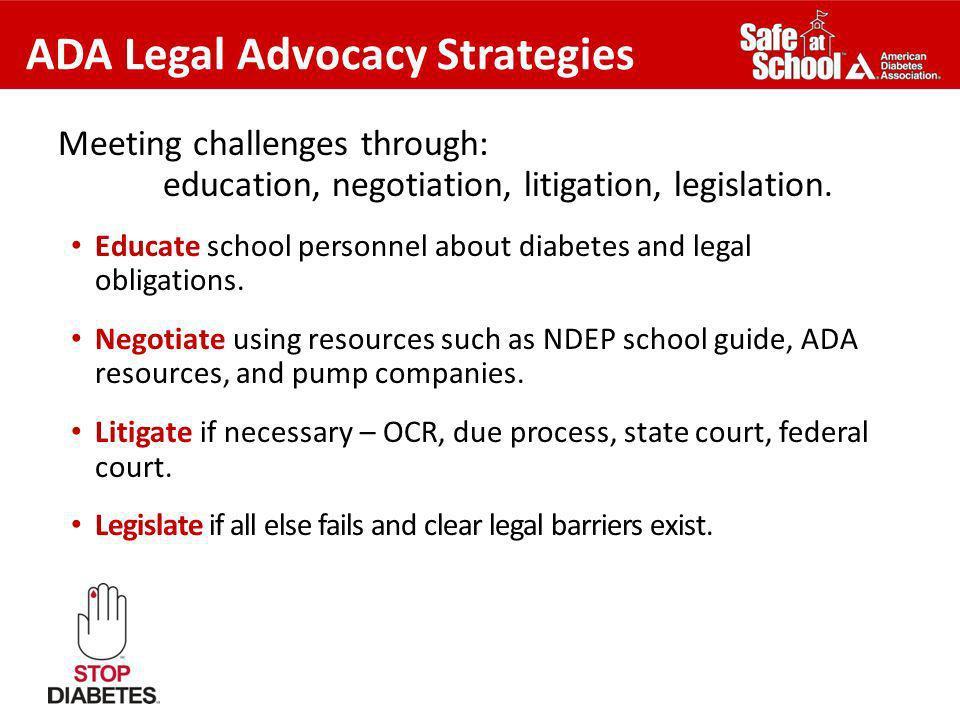 ADA Legal Advocacy Strategies