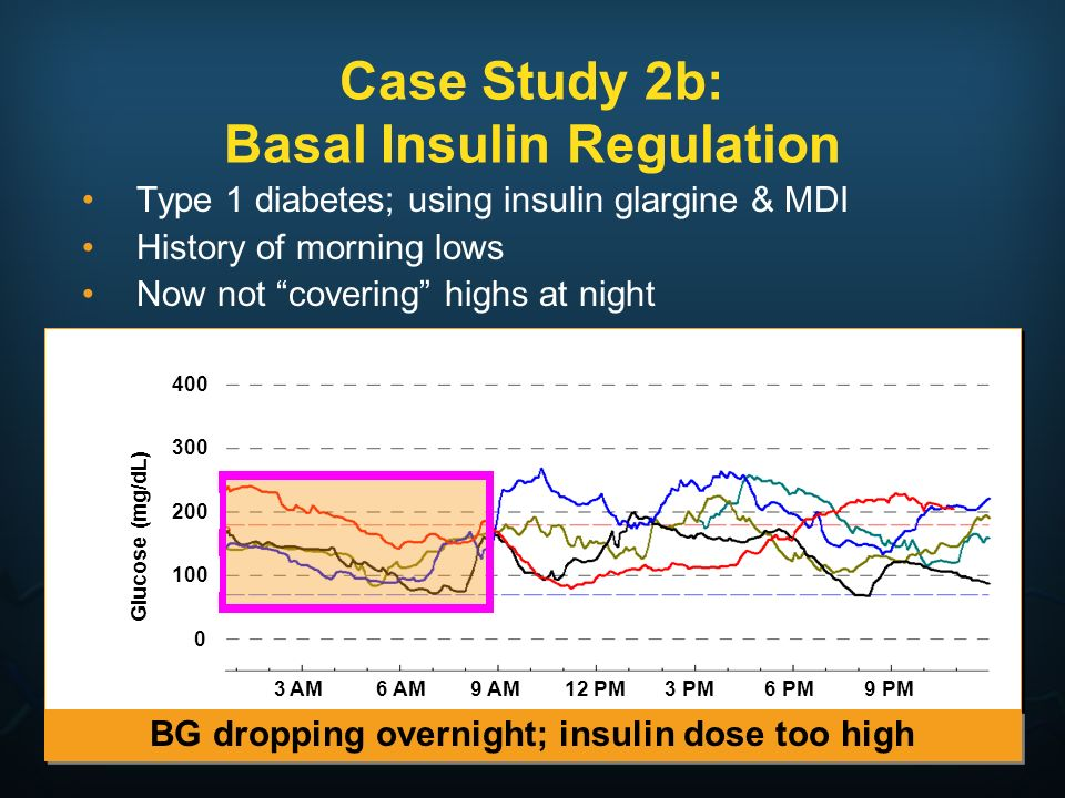 Case Study 2b: Basal Insulin Regulation