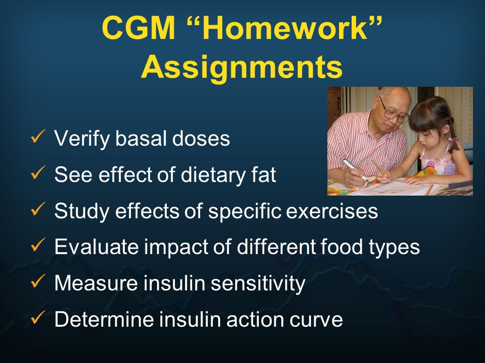 CGM Homework Assignments