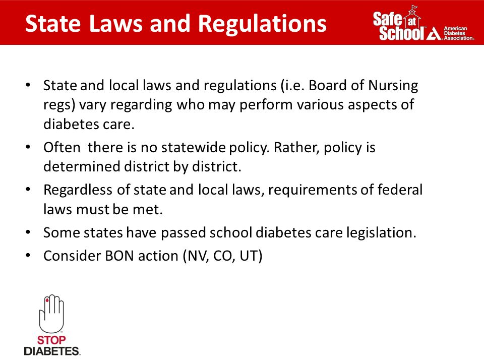 Rhode Island Diabetes Laws And Regulations