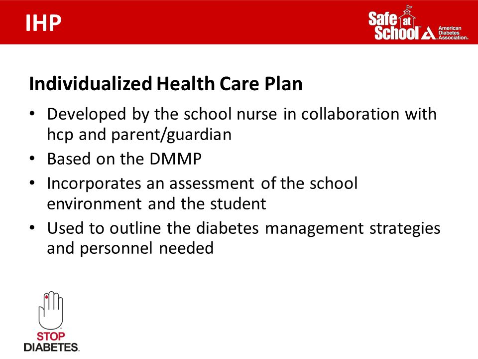 Individualized Health Care Plan