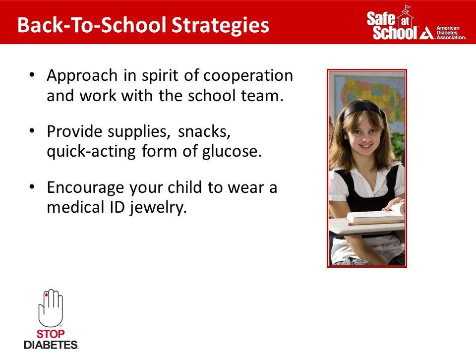 Back-To-School Strategies