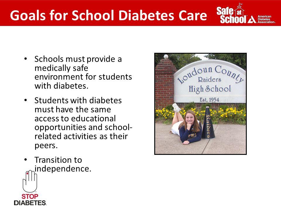 Goals for School Diabetes Care