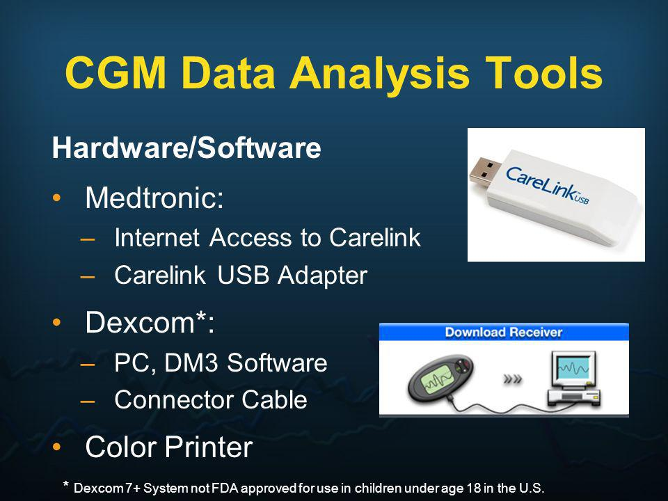 CGM Data Analysis Tools