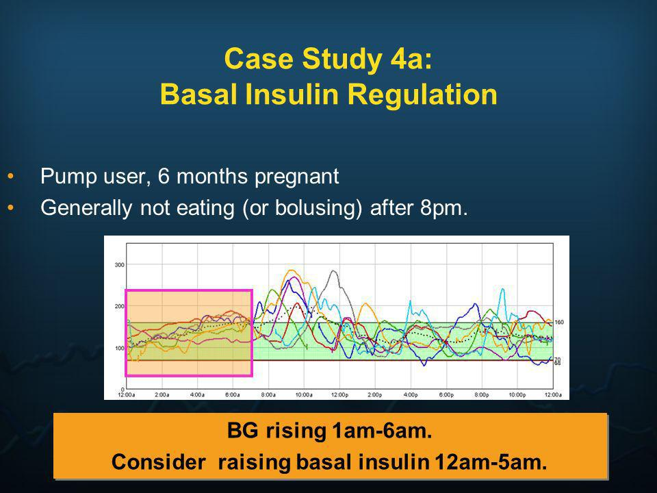 Case Study 4a: Basal Insulin Regulation