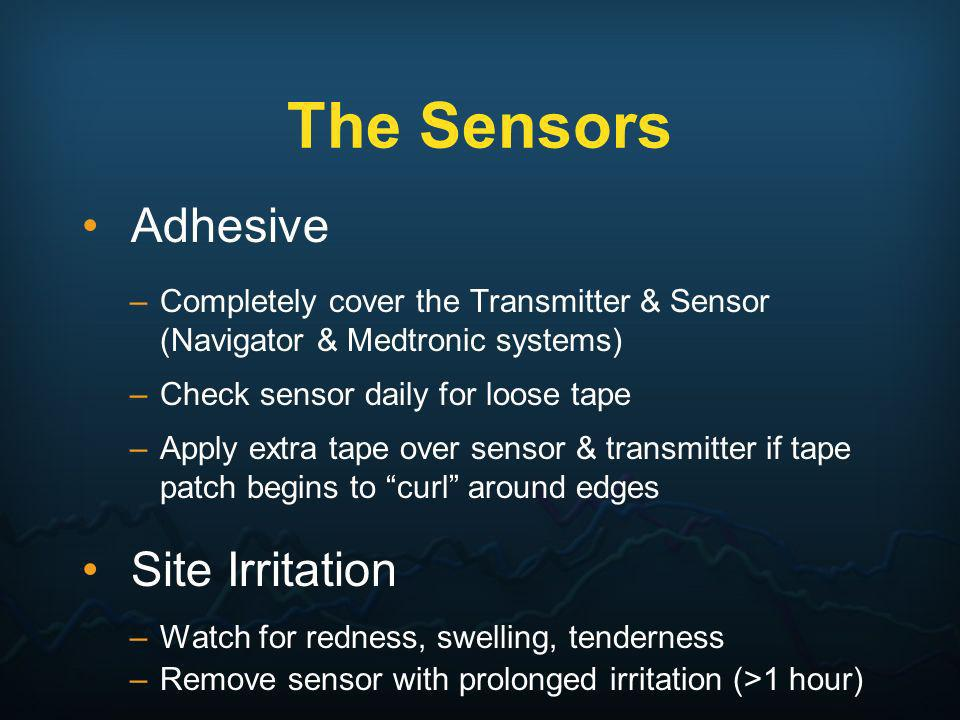 The Sensors Adhesive Site Irritation