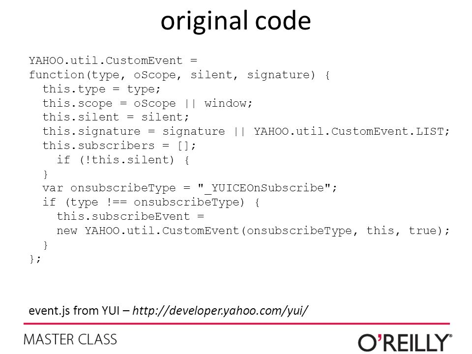 original code event.js from YUI – http://developer.yahoo.com/yui/