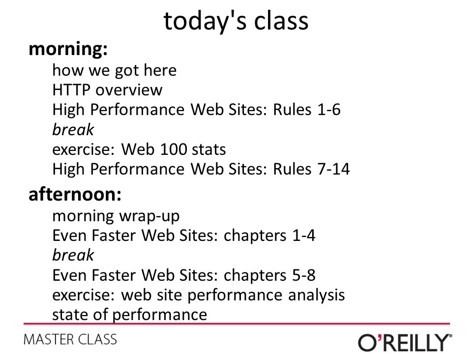 today s class morning: afternoon: how we got here HTTP overview