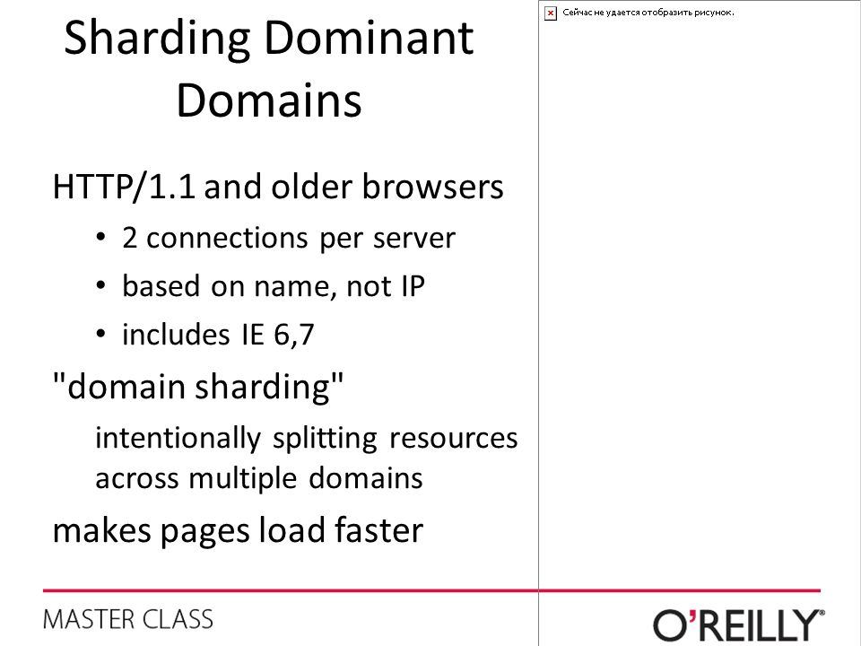 Sharding Dominant Domains