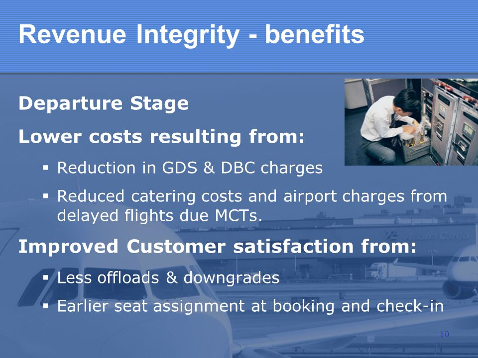 Revenue Integrity - benefits