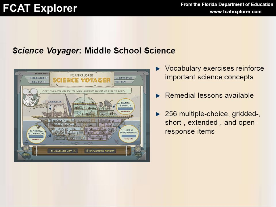 Science Voyager: Middle School Science