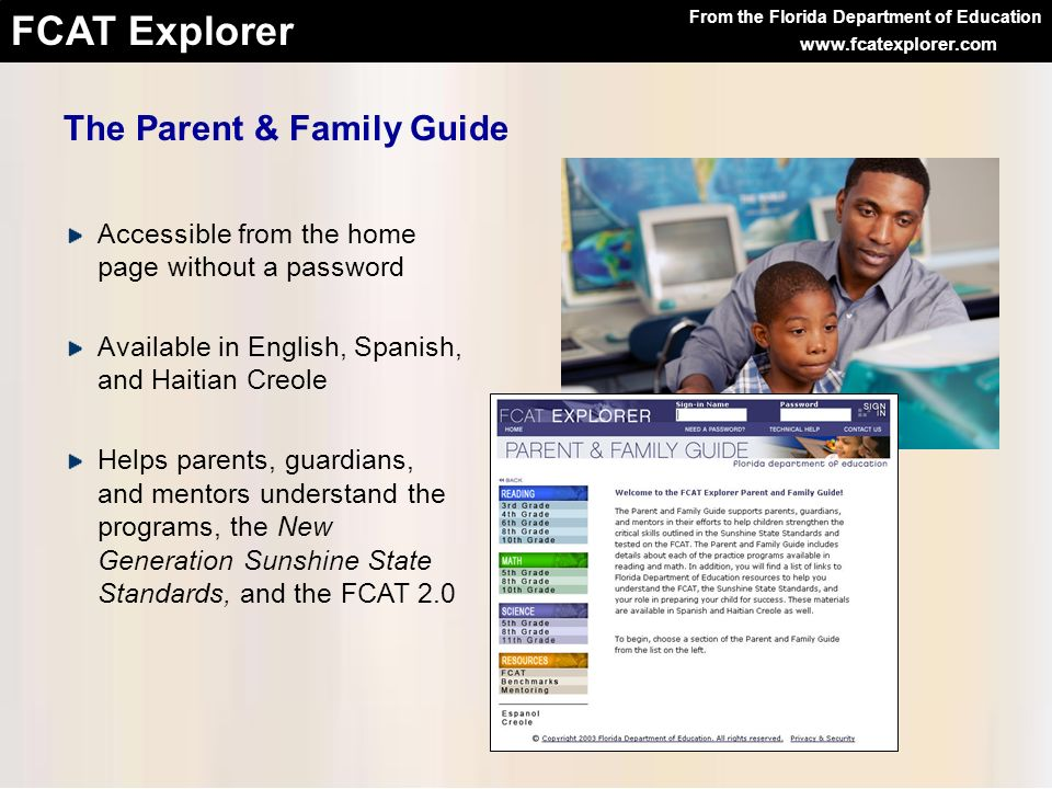 The Parent & Family Guide