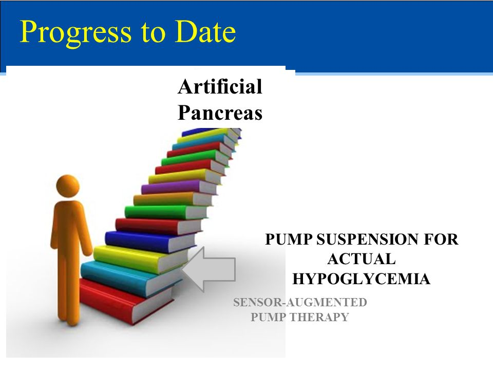 Progress to Date Artificial Pancreas PUMP SUSPENSION FOR