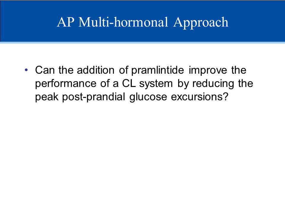 AP Multi-hormonal Approach