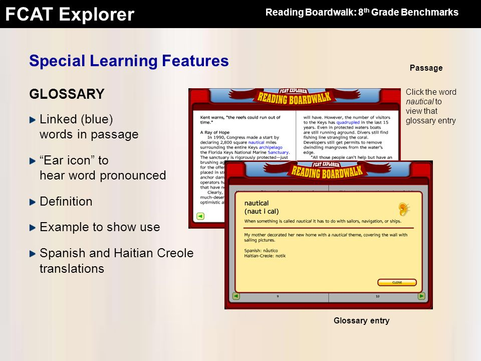Special Learning Features