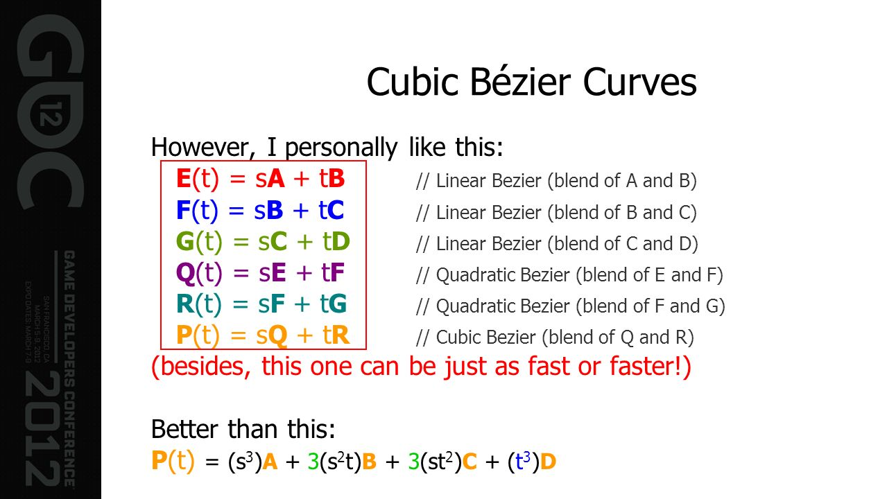 Cubic Bézier Curves However, I personally like this: