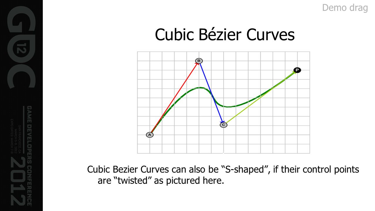 Cubic Bézier Curves Demo drag
