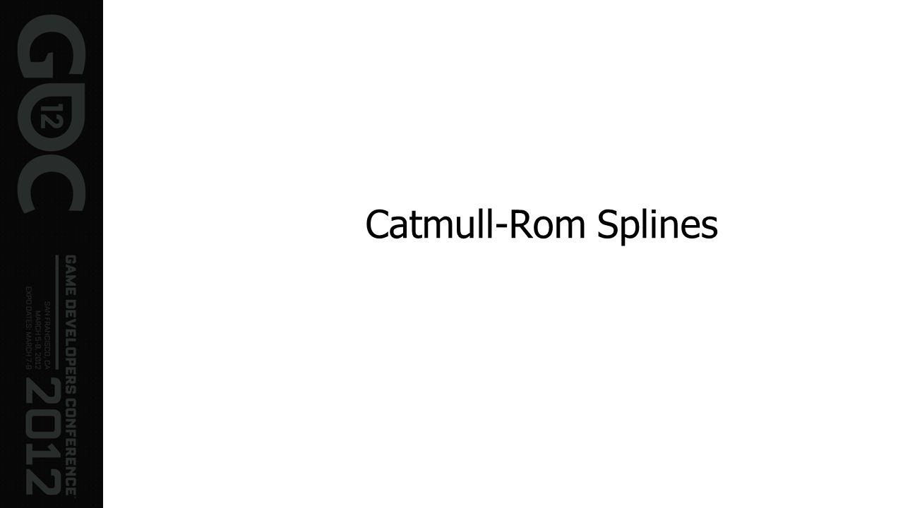 Catmull-Rom Splines