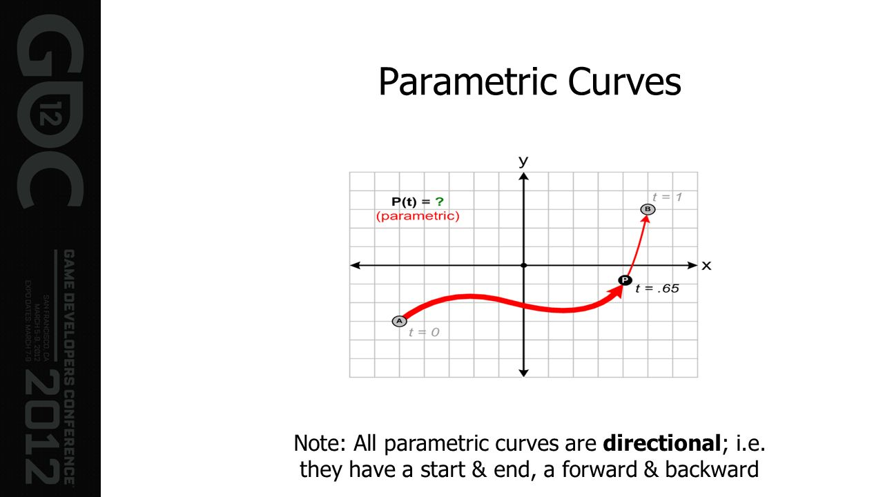 Parametric Curves Note: All parametric curves are directional; i.e.