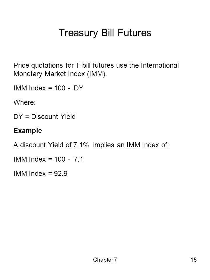 Chapter 7 Interest Rate Futures - Ppt Download