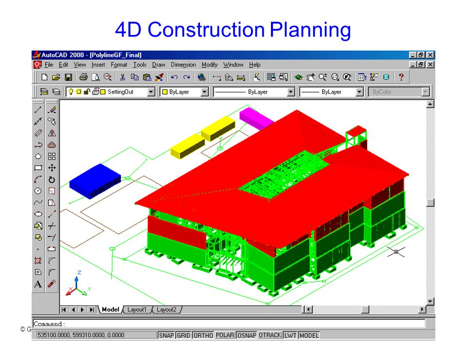 4D Construction Planning