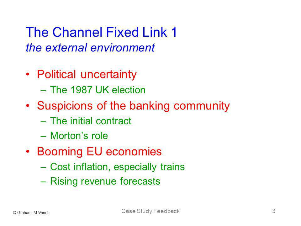 The Channel Fixed Link 1 the external environment