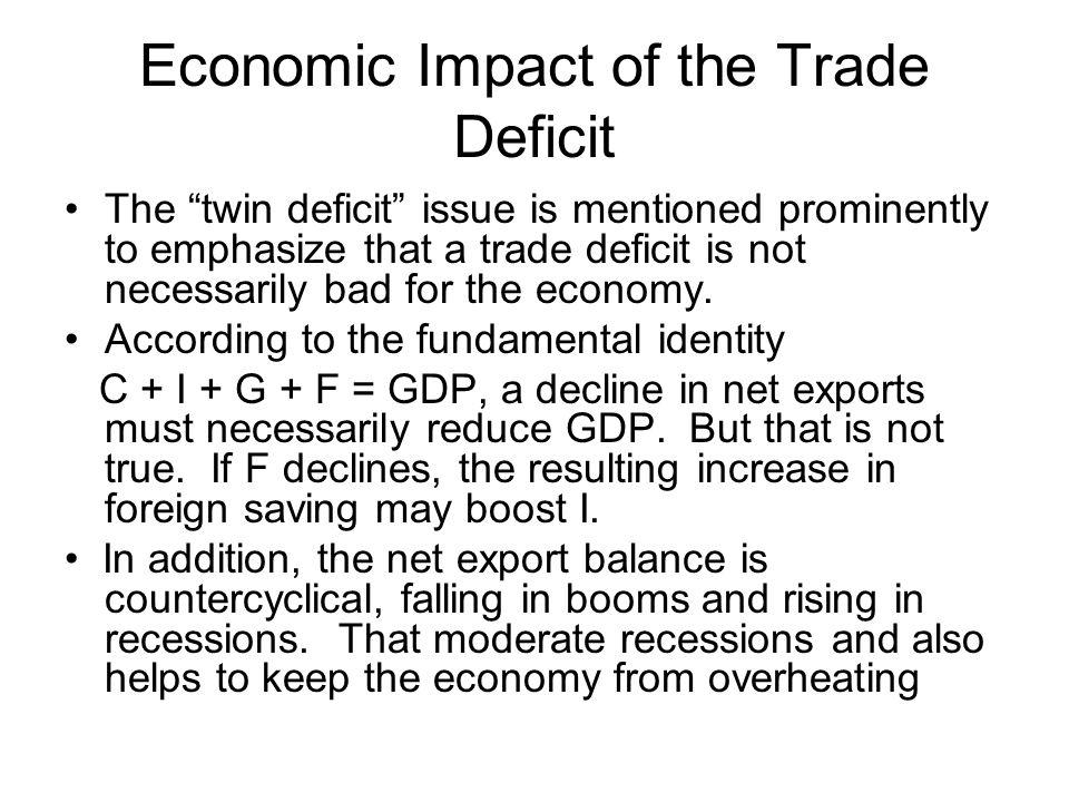 Economic Impact of the Trade Deficit