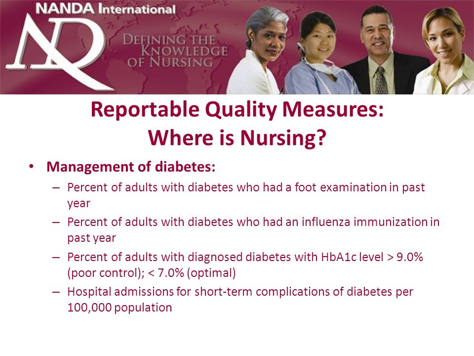 Reportable Quality Measures: Where is Nursing