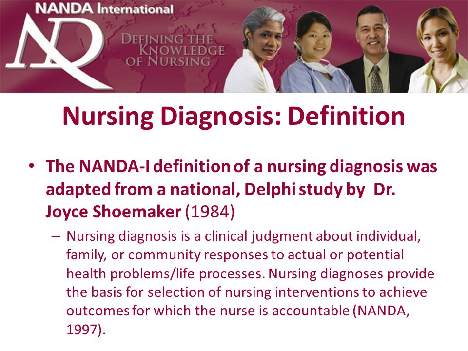 Nursing Diagnosis: Definition