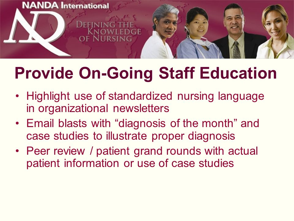 Provide On-Going Staff Education