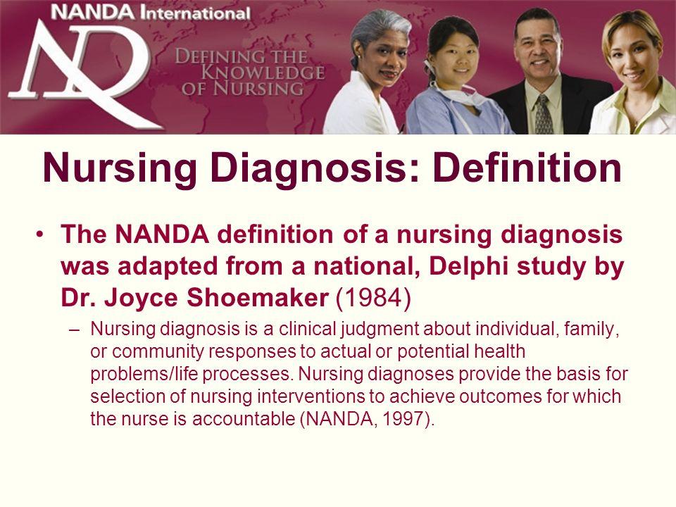 Nursing Diagnosis: Definition