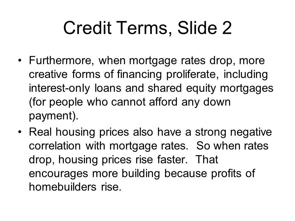 Credit Terms, Slide 2