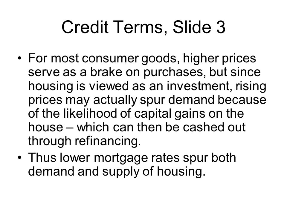 Credit Terms, Slide 3