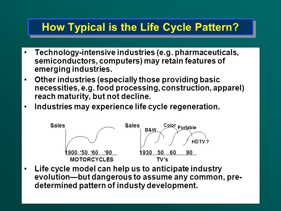 How Typical is the Life Cycle Pattern