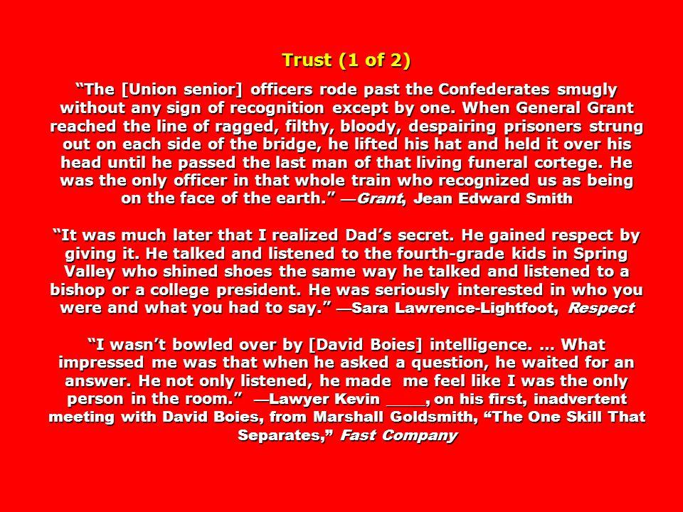 Trust (1 of 2)