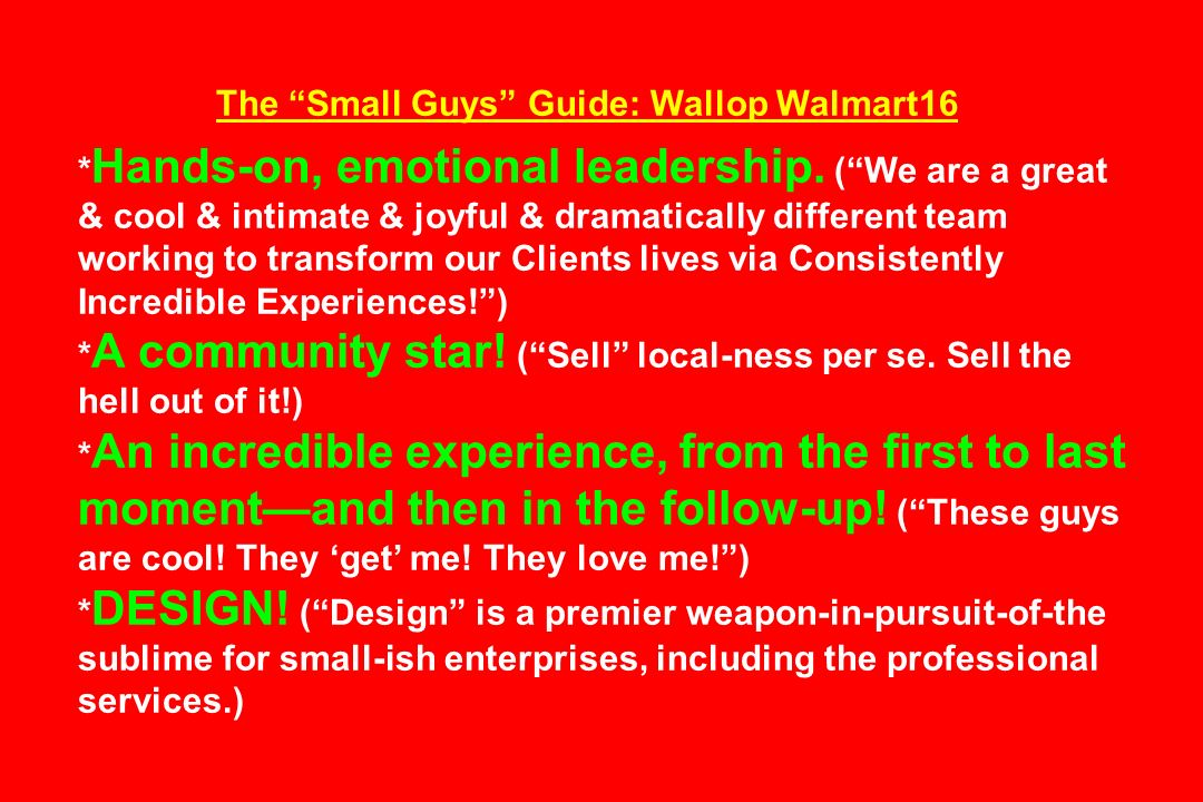 The Small Guys Guide: Wallop Walmart16