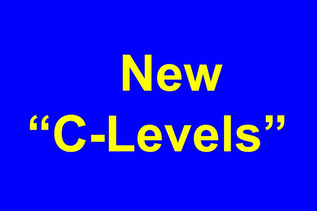 New C-Levels