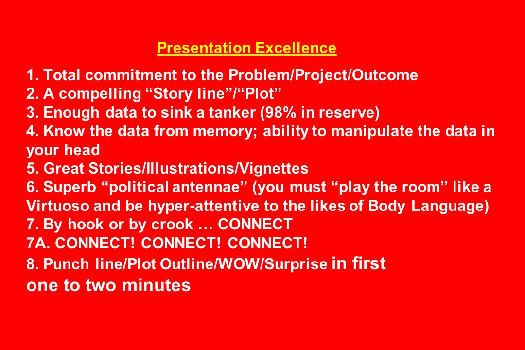Presentation Excellence 1