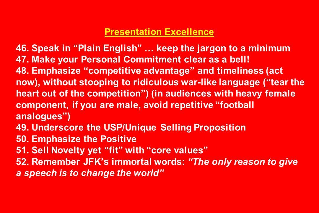 Presentation Excellence 46