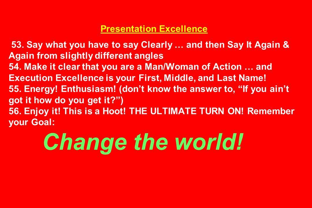 Presentation Excellence 53