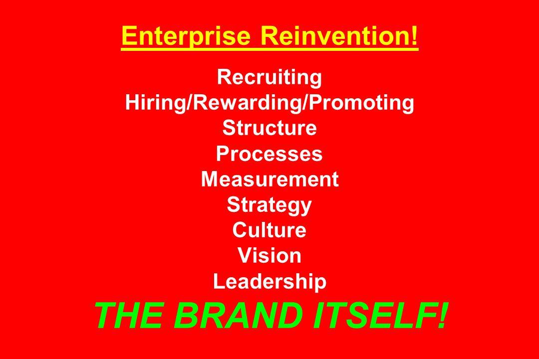 Enterprise Reinvention
