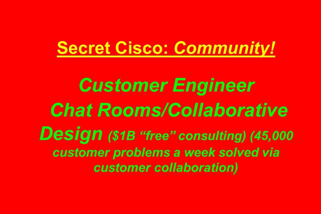 Secret Cisco: Community