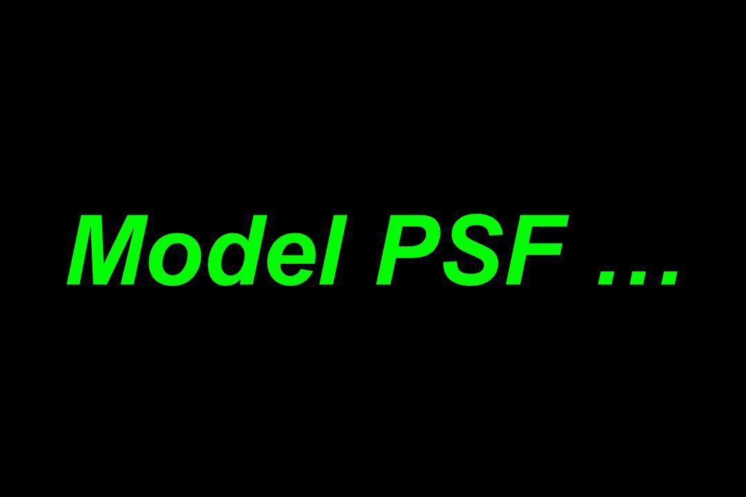 Model PSF …