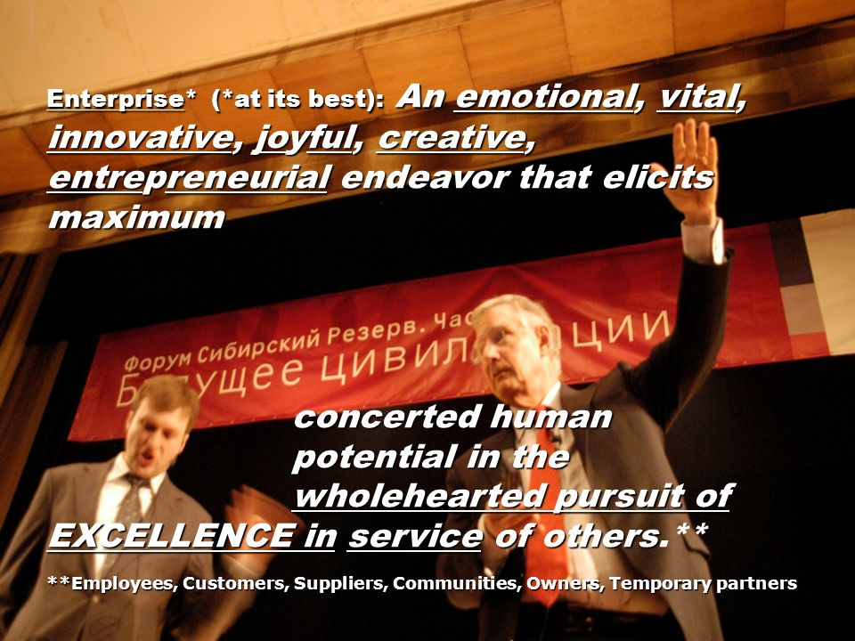 concerted human potential in the