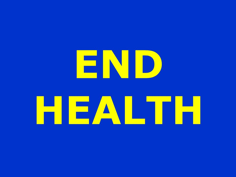 END HEALTH