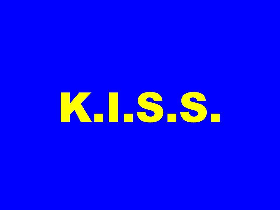K.I.S.S.