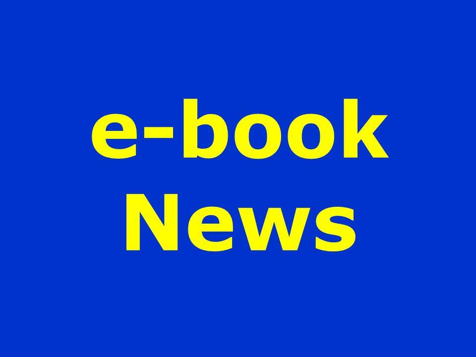 e-book News