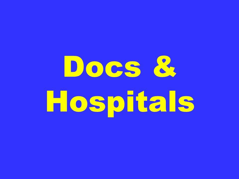 Docs & Hospitals
