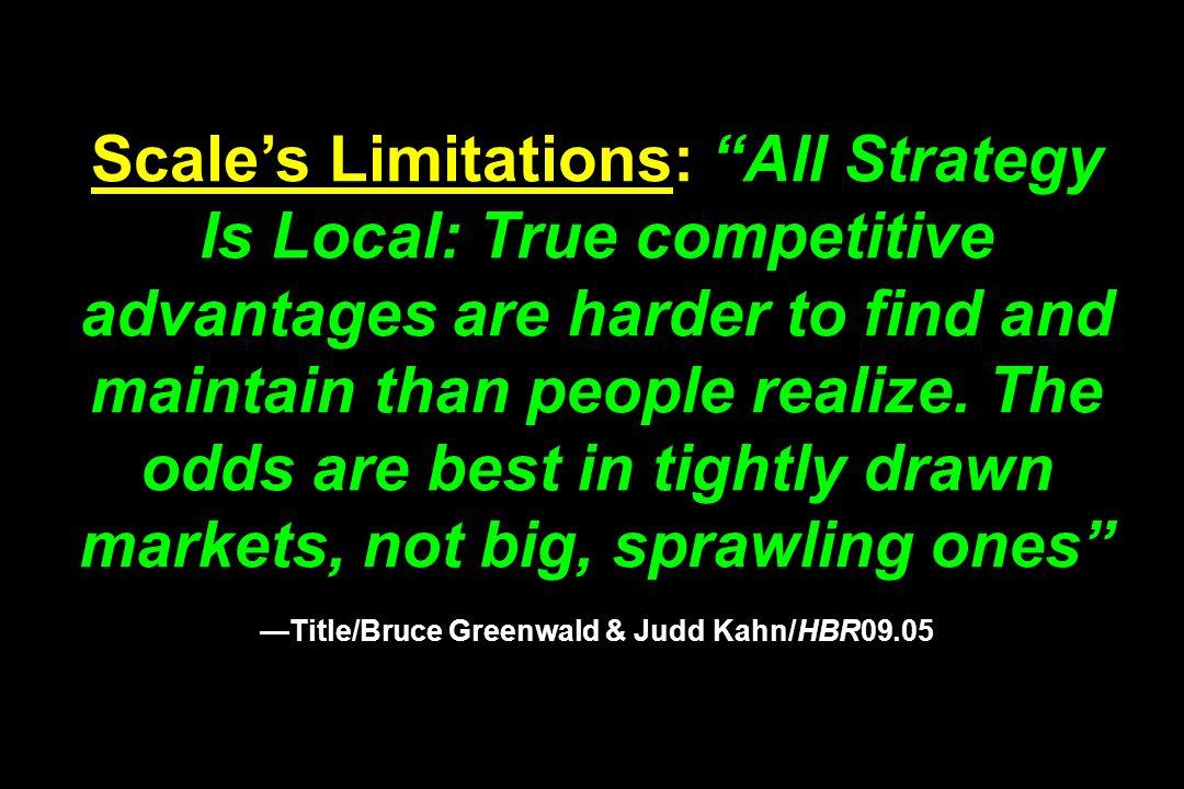 —Title/Bruce Greenwald & Judd Kahn/HBR09.05